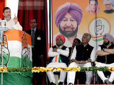 Punjab Election 2017: Congress, AAP likely to outdo BJP-SAD but a hung Assembly looms large