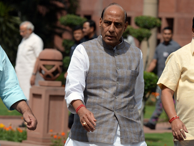 Manipur blockade result of Congress' conspiracy: Home Minister Rajnath Singh