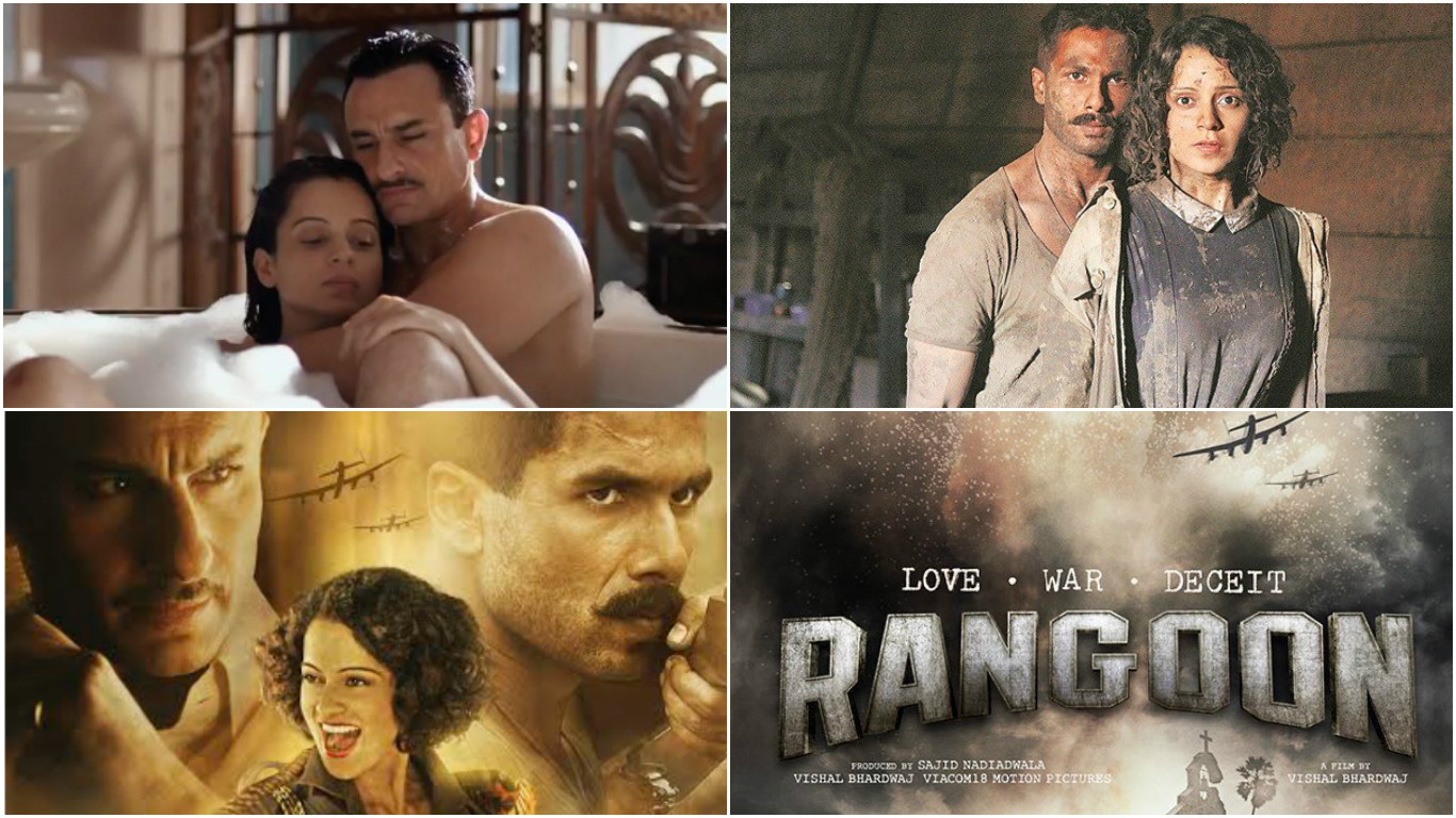 Rangoon quick review Kanganas Julia is the heart of this thrilling tale of love and war