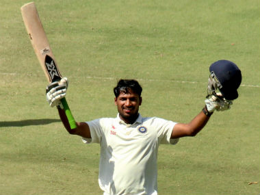 Saurabh Singh smashed a brilliant hundred on Day 3. PTI