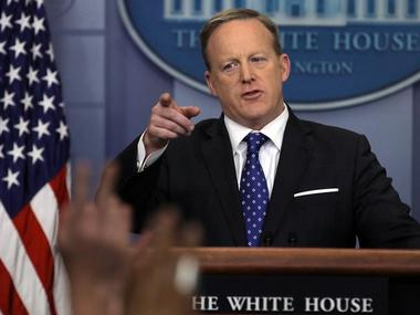 President Donald Trump's spokesman Sean Spicer dismissed allegations of invovlement with Russia. Reuters