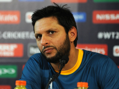 File photo of Shahid Afridi. Solaris Images