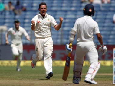 Steve O'Keefe turned the game by picking six wickets. AP