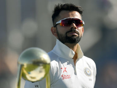 Virat Kohli himself suffered a blip in his batting form, getting dismissed for 0 and 13 respectively. AFP