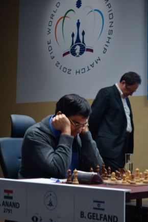 The seventh game against Boris Gelfand that Viswanathan Anand lost.