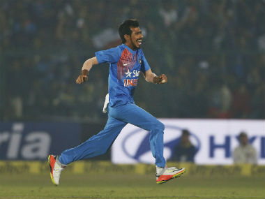 Yuzvendra Chahal inspired India to a 75-run win the the 3rd T20I in Nagpur. AP
