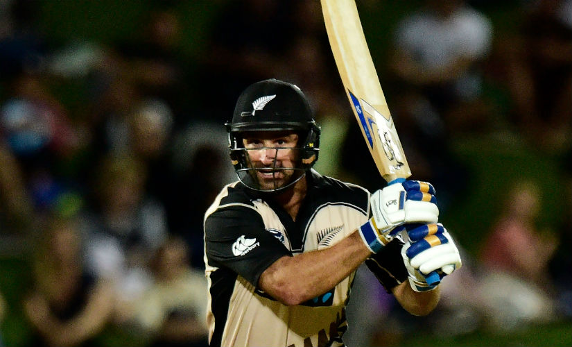 Colin de Grandhomme has a reputation for hitting the ball fiercely, which a strike rate of 171 in 100 matches exemplifies. AFP