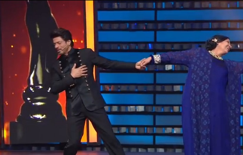 Shah Rukh Khan and Shabana Azmi