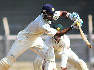 Sreyas Iyer played a fluent innings. Image courtesy: Twitter