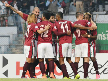 File photo of Mohun Bagan players. Twitter