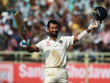 File picture of Cheteshwar Pujara. AFP