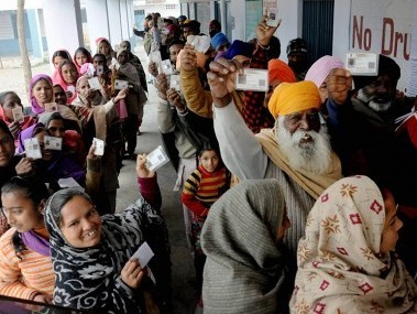 Punjab Election 2017: State records 78.6% voter turnout amid technical glitches, skirmishes at some places