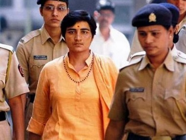 Malegaon blast victims father moves EC to ban accused Sadhvi Pragya Singh Thakur from contesting Lok Sabha polls