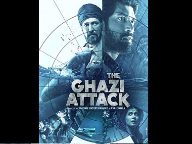 The Ghazi Attack movie review This underwater thriller is not quite on target but is a fine effort