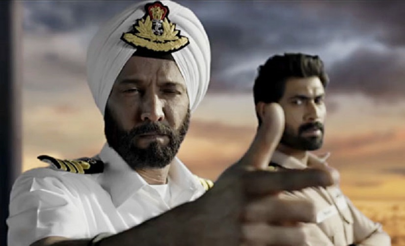 Kay Kay Menon and Rana Daggubati in The Ghazi Attack