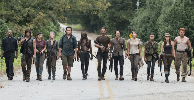 AMC's The Walking Dead, based on the Robert Kirkman comics
