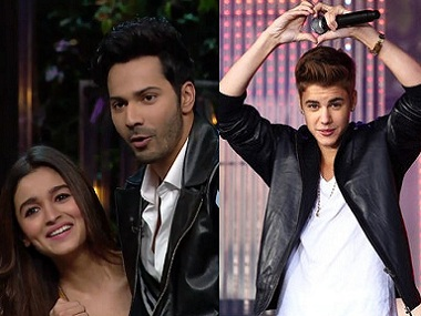 Justin Bieber Mumbai concert Sunny Leone to join Varun Alia and Sidharth onstage