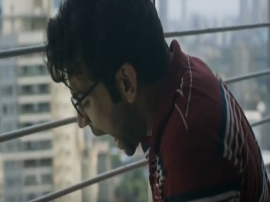 Rajkummar Rao in a still from Trapped. YouTube