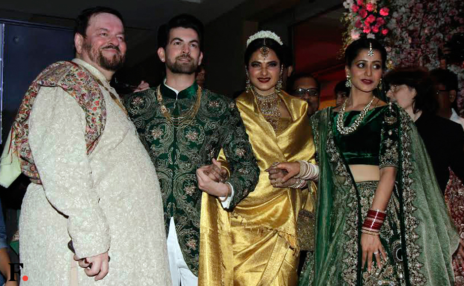 Neil Nitin Mukesh and Rukmini Sahay's wedding reception: See photos of celeb guests