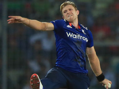 File photo of David Willey. AFP