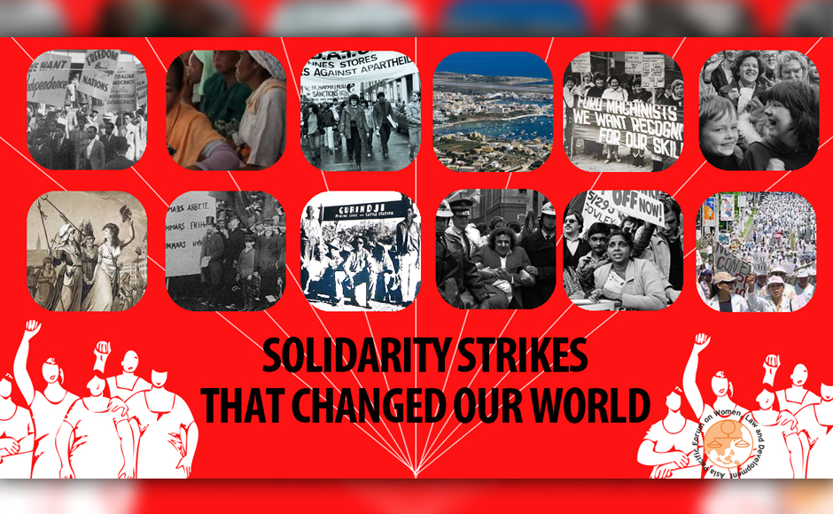 International Women's Day 2017: Solidarity strikes by women that changed our world