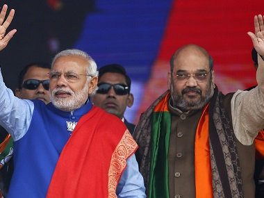 File image of Narendra Modi and Amit Shah. Reuters