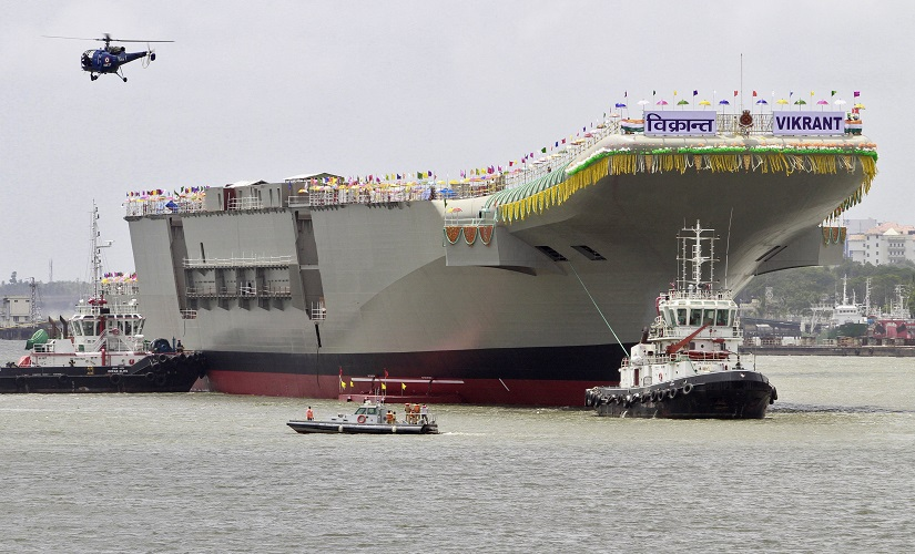 "India's Indigenous Aircraft Carrier P-71 ""Vikrant"". Reuters"