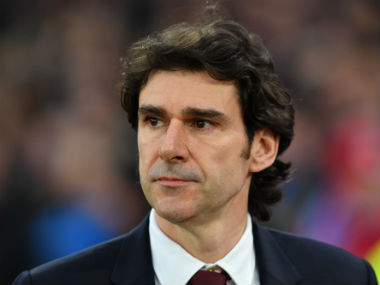 Aitor Karanka was sacked after Middlesbrough's dip in form in recent games. AFP