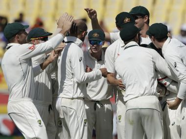 Australia must clean up the Indian tail quickly on Day 3. AP