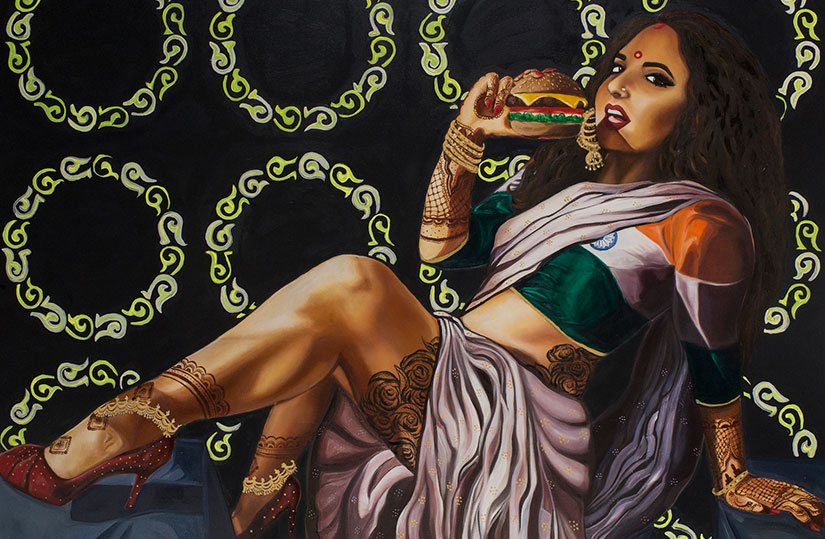 Badass Indian pinups Art that challenges what an Indian woman looks like