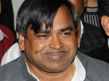 File photo of Gayatri Prajapati. Image courtesy: twitter.com/@DDNewsLive