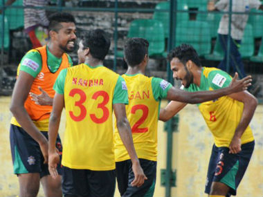 Chennai City FC remain eighth on the points table after the 2-1 win over East Bengal. Image courtesy: I-League via Twitter