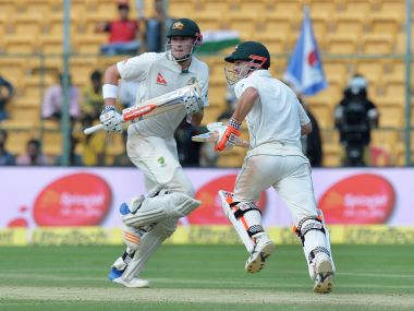 Australia can put the Test beyond India by batting the whole day on Day 2. AFP