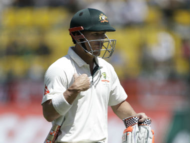 David Warner has accumulated a total of 193 runs in eight innings in the ongoing series. AP