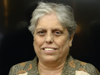 File image of former India women's cricketer Diana Edulji. AFP