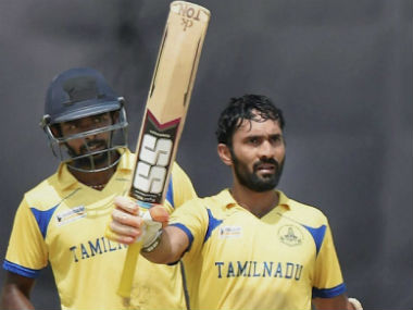 Dinesh Karthik's gritty knock was too much for Bengal as Tamil Nadu won the final by 37 runs. PTI