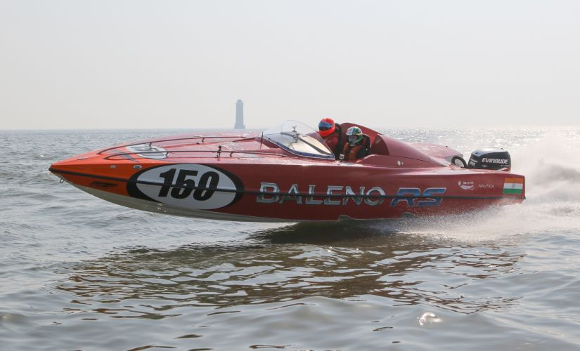 The Baleno RS Booster Jets Panther boat.