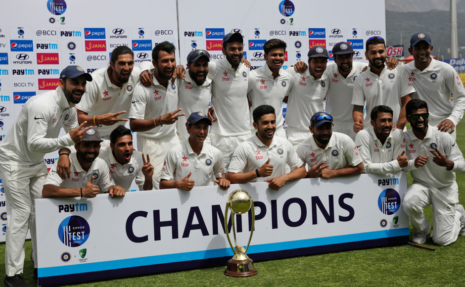 India vs Australia: Virat Kohli and Co regain Border-Gavaskar Trophy with 8-wicket win at Dharamsala
