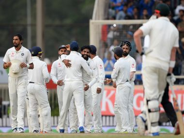 India are in a good position to go for the kill in Ranchi on Day 5. AFP