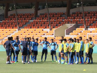 India will be looking for a fifth win on the trot when the take on Cambodia. Twitter/ @IndianFootball
