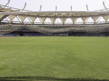 Fifa delegation visited the Jawaharlal Nehru stadium in New Delhi on 22 March. Twitter/ @FIFA.com