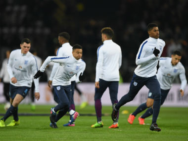 England midfielder Jesse Lingard believes England can do the damage with a young team and with a young manager. Getty Images