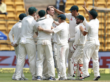 Australia won the first Test in Pune comprehensively, before being halted in Bengaluru. AP