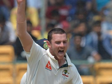 Josh Hazlewood feels fast  bowlers need to bowl more straighter to get wickets. AFP