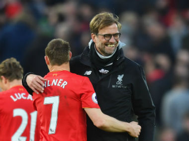 Jurgen Klopp additionally confirmed the absence of Henderson from Liverpool's upcoming clash against Manchester City. Getty Images
