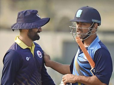 MS Dhoni led Jharkhand into the quarter finals of the Vijay Hazare trophy. PTI