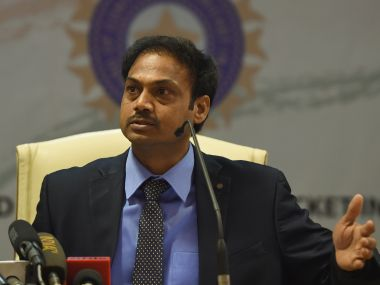 File photo of MSK Prasad. AFP