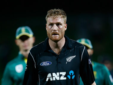 Martin Guptill made a fine comeback after injury by slamming his third 180-plus score in the format. Getty Images