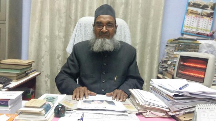 Maulana Saidur Rahman, principal of Darul Uloom Nadwatul Ulama, Lucknow. Firstpost/Tufail Ahmad
