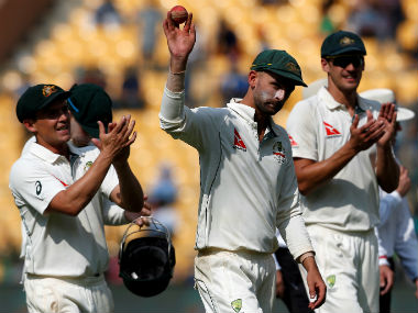 Nathan Lyon recorded the best figures in India by an overseas bowler with a haul of 8/50. Reuters